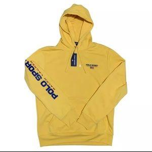 Polo Sport Ralph Lauren Yellow spellout Pullover